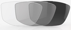 PHOTOCHROMIC CLEAR GREY glasses